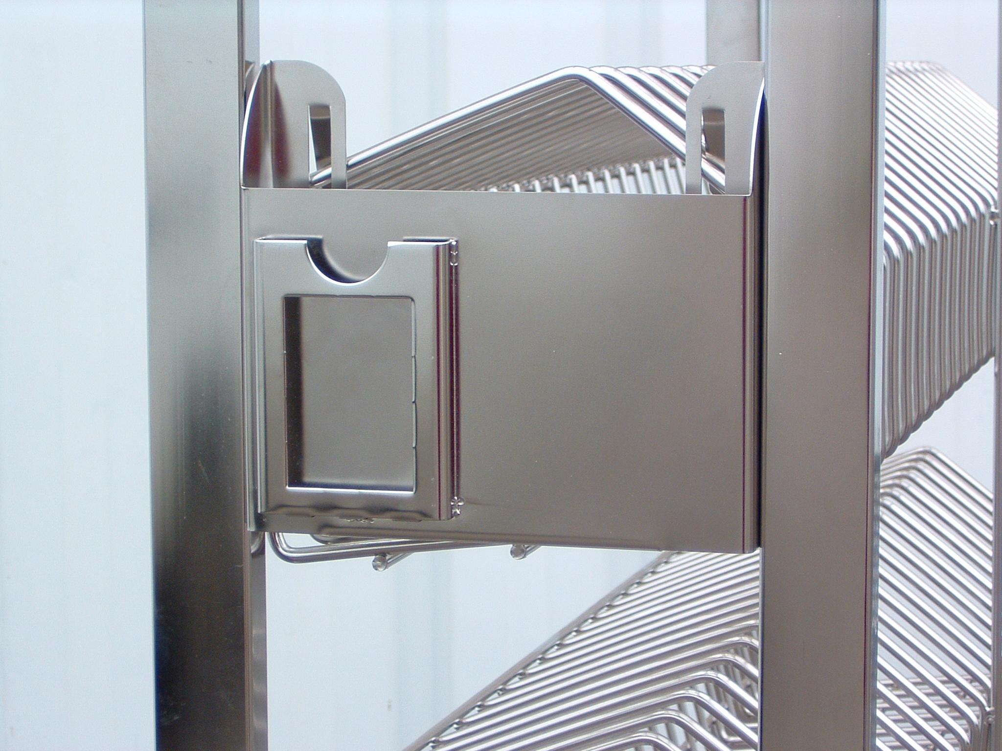Porte étiquette Sur Mobilier Salle Blanche