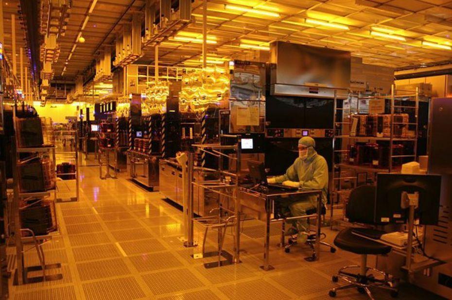 Salle banche de production