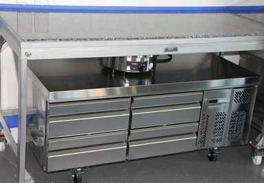 Table Inox Granit 384x267