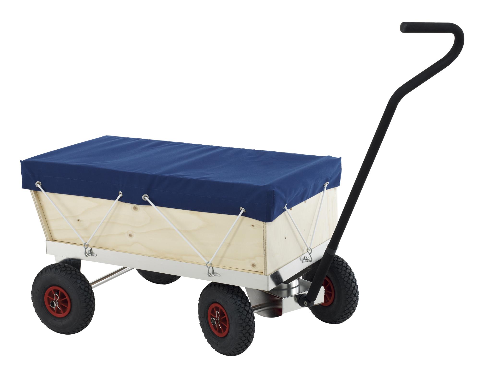 Chariot chassis inox avec taud