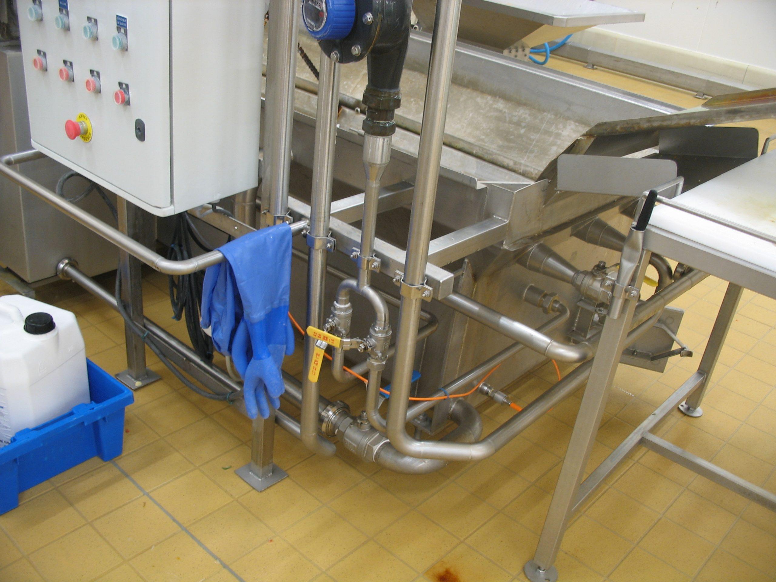 Energies fluides sur machine de production
