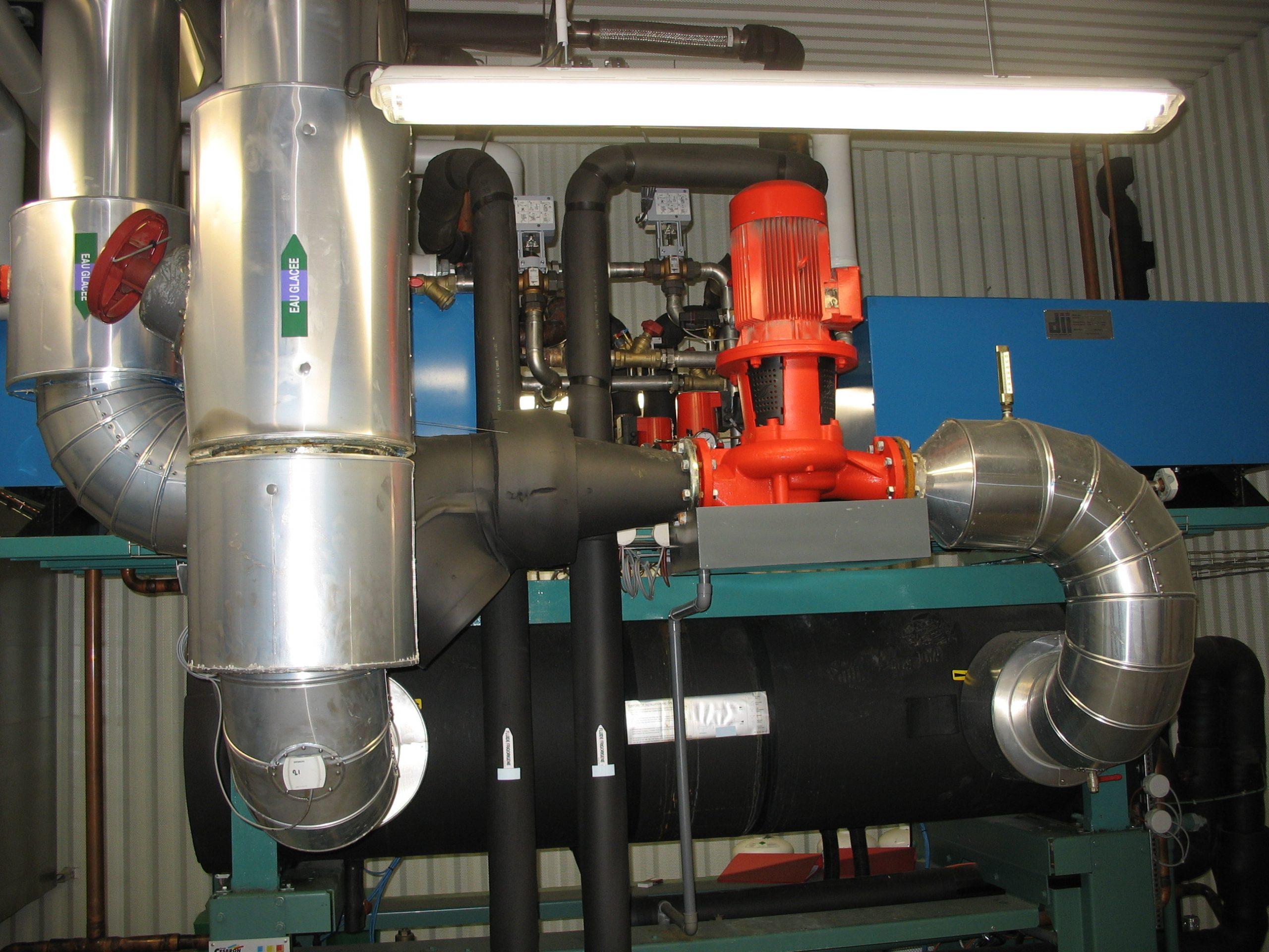 Pompe eau glacée