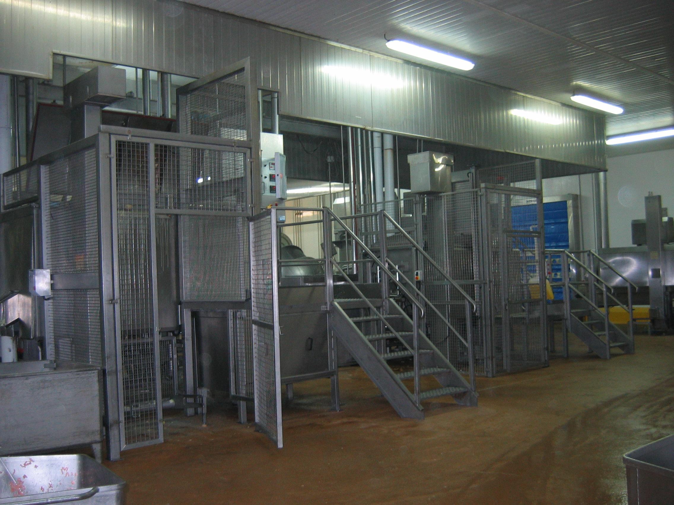 Protection accès des personnes industrie