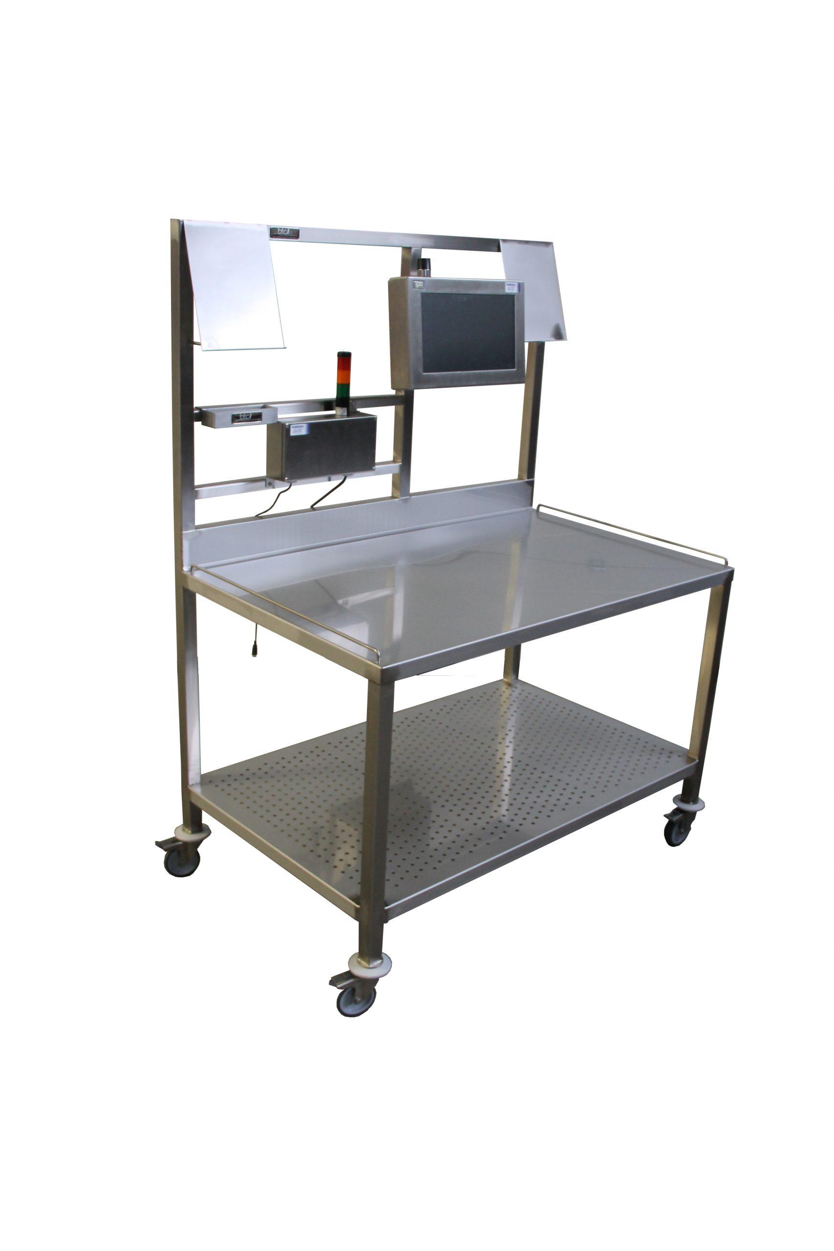 Table mobile de production
